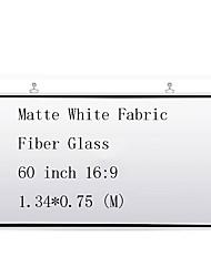 Недорогие -16:9 60 дюймовый Стекловолокно Экран с креплением на стену
