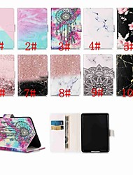 cheap -Case For Amazon Kindle PaperWhite 4 / Kindle PaperWhite 3(3th Generation 2015 Release) Magnetic / Flip / with Stand Full Body Cases Marble Hard PU Leather for Kindle PaperWhite 4 / PaperWhite 2