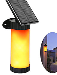 cheap -LED Garden Solar light Outdoor 3 mode led solar lamp Flame Wall 2835SMD Waterproof Dark Sensor for Yard Bench Pathway Camping