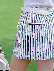 cheap -Women's Skirt Golf Athleisure Outdoor Autumn / Fall Spring Summer / Cotton / Micro-elastic / Moisture Wicking / UV Resistant / Breathable