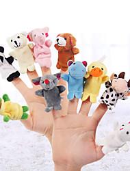 cheap -Pig Finger Puppets / Puppets Cute / Novelty / Lovely Cartoon Textile / Plush Girls' Gift 5 pcs