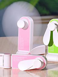 cheap -1PC Usb Mini Charging Pocket Folding Fan Portable Hand-Held Small Fan Creative Small Appliances Desktop Fan