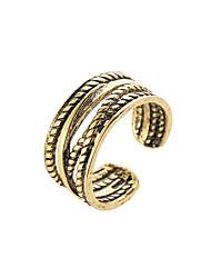 cheap -Ring Black Gold Silver Alloy Stylish 1pc / Women's