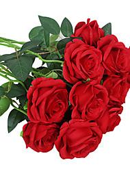 cheap -Artificial Flower Plastic Wedding Bouquet Tabletop Flower Bouquet 1