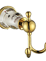 cheap -Robe Hook New Design / Cool Contemporary Brass 1pc Wall Mounted