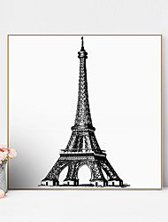 cheap -Framed Art Print Framed Canvas Prints - Scenic PS Oil Painting Wall Art