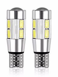 Недорогие -2pcs T10 Мотоцикл / Автомобиль Лампы 5 W SMD 5630 480 lm 10 Светодиодная лампа Подсветка для номерного знака / Рабочее освещение / Задний свет Назначение Универсальный Все года
