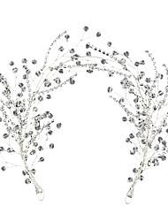 cheap -Ladies Fashion Cute Princess Alloy Synthetic Diamond Polka Dot