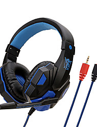 cheap -Soyto SY830MV Adjustable Length Hinges 3.5mm Surround Stereo Gaming Headset Headband Headphone with Mic for PC 3 Color For Choice