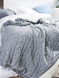 cheap -Multifunctional Blankets, Solid Colored Polyester Soft Blankets