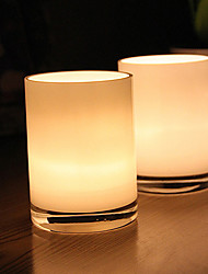 cheap -White Straight Glass Candlestick Desktop Decoration Wedding Decoration