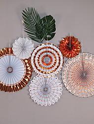 abordables -Décorations de vacances Vacances & Voeux Objets décoratifs Décorative Multi-couleurs 6pcs