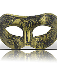 cheap -Halloween Mask Masquerade Mask Plastic Vintage Retro Party Horror Adults' Boys' Girls'