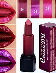 abordables -marque cmaadu sexy 4 couleurs diamant nacré rouge à lèvres glitter gloss gloss cosmétiques imperméable maquillage longue durée pour les lèvres.