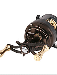 cheap -Fishing Reel Baitcasting Reel 6.2:1 Gear Ratio+12 Ball Bearings Right-handed / Left-handed Sea Fishing / Bait Casting / General Fishing / Carbon