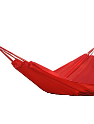 cheap -Camping Hammock Outdoor Portable Lightweight Foldable Polyester for 1 person Hunting Fishing Beach Blue Orange Red 300*140 cm / Comfortable