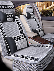 cheap -Car Seat Covers Headrest & Waist Cushion Kits Beige / Gray / Coffee Other Leather Type Sports For universal