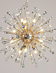cheap -12 Bulbs QIHengZhaoMing 62 cm Chandelier Metal Brass Traditional / Classic 110-120V / 220-240V