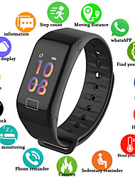 cheap -UM1 Smart Wristband BT Fitness Tracker Support Notify/ Blood Pressure Measurement Sports Smart watch for Samsung/ Iphone/ Android Phones