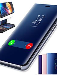 Недорогие -Смарт-зеркало для сна флип кожаный чехол для ПК для Huawei Y6 Pro 2019 Y6 2019 Y7 Pro 2019 Y7 Prime 2018 Y9 2018 Y6 2018 Y5 2018 крышка