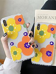Недорогие -чехол для яблока iphone xr / iphone xs max рисунок / прозрачная задняя крышка цветок мягкая тпу для 6 6 плюс 6 с 6 splus 7 8 7 плюс 8 плюс x xs