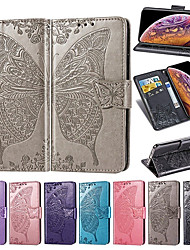 cheap -PU Leather Flip Wallet Full Body Butterfly Hard TPU Case For Apple iphone XS Max XR XS X 8 Plus 8 7 Plus 7 6 Plus 6 Fundas Case
