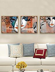 cheap -Framed Art Print Framed Set - People PS Photo Wall Art
