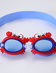 cheap -Swimming Goggles Portable Lightweight Anti-Fog For Kid's PC PC Transparent