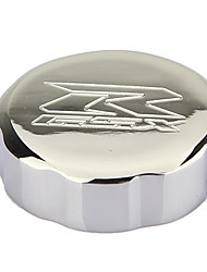 cheap -Motorcycle Chrome Brake Reservior Cap Cover for 92-12 Suzuki GSXR