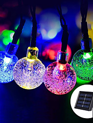 cheap -LOENDE 5M LED Solar String Lights 20LED Garden Path Yard Decor Outdoor Festival Lamp Solor String Lights Outdoor Led String
