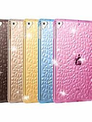 cheap -Case For Apple iPad Air / iPad 4/3/2 / iPad Mini 3/2/1 Shockproof / Transparent Back Cover Solid Colored Soft TPU / iPad Pro 10.5 / iPad (2017)