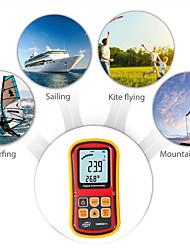 Недорогие -gm8901 + анемометр расхода воздуха прибор для измерения скорости ветра температура жк-дисплей мера цифровая 45 м / с