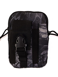 cheap -Outdoor Sports Case For Universal Card Holder Pouch Bag Solid Colored Soft Nylon Camouflage