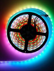 cheap -BRELONG® 5m RGB Strip Lights 300 LEDs SMD5050 10mm Multi Color Cuttable / Party / Decorative 220-240 V / 110-120 V 1 set