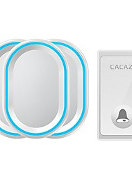 cheap -FA80 Wireless One to Three Doorbell Ding dong Intercom Surface Mounted Doorbell