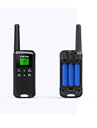 cheap -GOCOM G200 Anolog / Handheld Flashlight / Keylock / Dual Display 3KM-5KM 3KM-5KM 1300 mAh 0.5 W Walkie Talkie Two Way Radio
