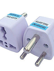 cheap -Three Round Plug Power Transfer Socket Adapter