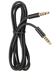 cheap -3.5mm Male to Female Audio Extension Cable 1.5M