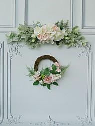 cheap -Wedding / Wedding Party Party Accessories Unique Wedding Décor / Crafts Floral / Sash / Ribbon / Flower Cotton Yarn / Poly / Cotton Blend / Rope Garden Theme / Wedding / Flower