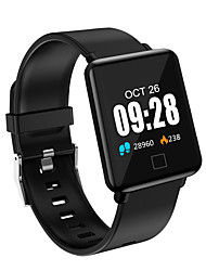 cheap -Z-YeuY J10 Men Women Smart Bracelet Smartwatch Android iOS Bluetooth Waterproof Touch Screen Heart Rate Monitor Blood Pressure Measurement Sports ECG+PPG Pedometer Call Reminder Sleep Tracker