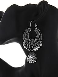 cheap -Women's Drop Earrings Dangle Earrings Retro Bell Vintage Ethnic Boho Earrings Jewelry Gold / Silver For Party Carnival Festival 1 Pair