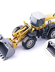 Недорогие -1:50 Грузовик Строительная техника Пожарная машина Экскаватор Игрушечные грузовики и строительная техника Игрушечные машинки Модели автомобилей моделирование Детские Игрушки на солнечных батареях