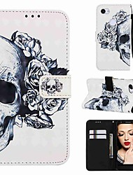 cheap -Case For Google Google Pixel 3a / Google Pixel 3a XL Magnetic / with Stand / Shockproof Full Body Cases Cartoon / Skull Hard PU Leather for Google Pixel 3 / Google Pixel 3 XL / Google Pixel 3a XL
