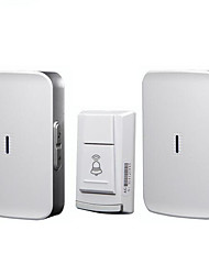 cheap -Wireless home doorbell battery type DC one for two full use battery without plugging wireless waterproof doorbell