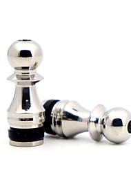 cheap -YUHETEC 510 Drip Tip Stainless Steel Gobang for ijust S/TFV8 baby/TFV12 BABY PRINCE/Stick M17/MELO 4 D25 Atomizer 2pcs