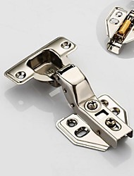 cheap -201 straight bend detachable hinge stainless steel cabinet door hinge aircraft pipe hinge hinge wardrobe damping hydraulic buffer hinge