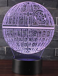 cheap -Galaxy Starry Sky Starry Night Light LED Lighting Light Up Toy Constellation Lamp Star Projector Glow 3D Cartoon Lovely Kid's Teenager for Birthday Gifts and Party Favors  1 pcs