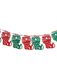 cheap -Holiday Decorations Holidays & Greeting Decorative Objects Party Red 1pc