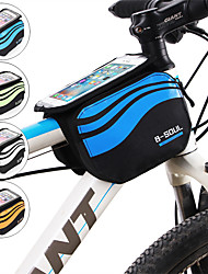 Недорогие -Сотовый телефон сумка 5.8 дюймовый Велоспорт для iPhone 8/7/6S/6 iPhone 8 Plus / 7 Plus / 6S Plus / 6 Plus iPhone X Серебряный Оранжевый Небесно-голубой Велоспорт