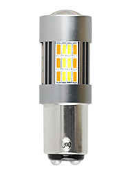 cheap -High Power 1157 7443 3156 t25 t20 62smd Dual-Color Switchback LED Bulbs Brake Lights